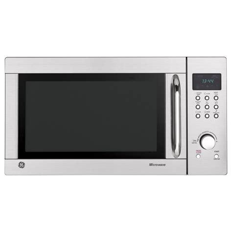 Ge Countertop Microwave Stainless Steel shop ge 1 3 cu ft 1000 watt countertop microwave