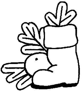dibujos de navidad para colorear botas bota papa noel dibujalia dibujos para colorear
