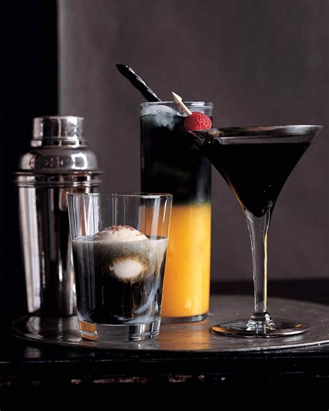 martini halloween halloween cocktails and drink recipes martha stewart