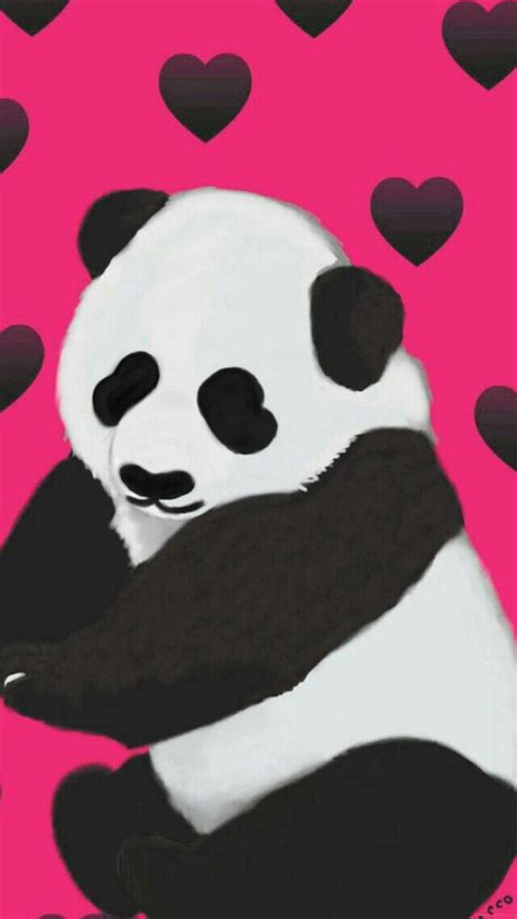 Panda Pink 1625 best images about iphone wp vol 1 on