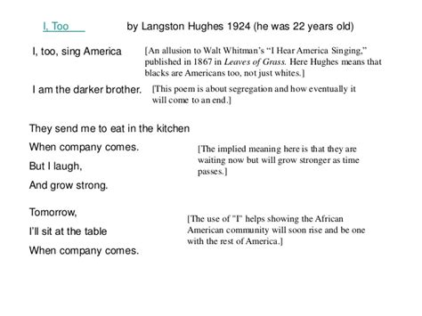 I Sing America Analysis Essay by Harlem Renaissance Poetry2