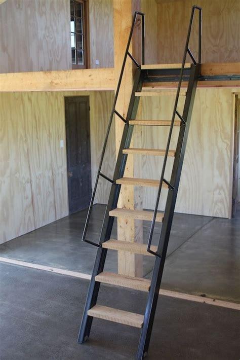 ship ladder project live in mezzanine workshop ships ladder on