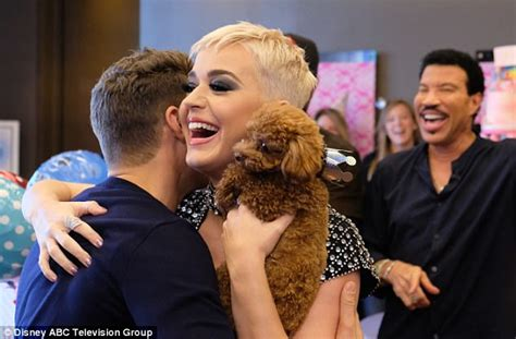 Will Be Showing Up On American Idol by American Idol Throws Judge Katy Perry Puppy Birthday Bash