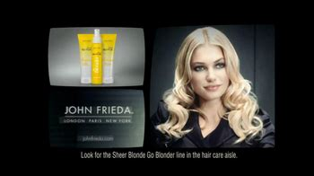 john frieda sheer blonde everlasting blonde tv commercial daring john frieda tv commercial for sheer blonde shoo ispot tv