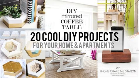diy projects home decor 20 cool home decor diy project