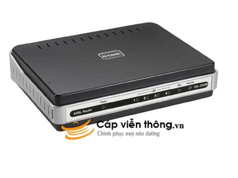 modem adsl d link 4 port dsl 2542b
