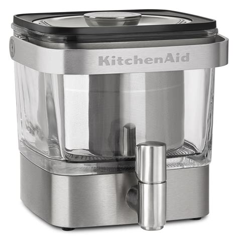home kitchen aid new kitchenaid cold brew coffee maker makes home brewing a