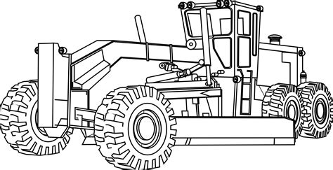 Construction Equipment Coloring Pages 187 artfavor heavy equipment coloring book svg colouringbook org