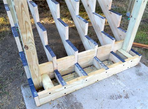 attaching bottom deck posts thisiscarpentry