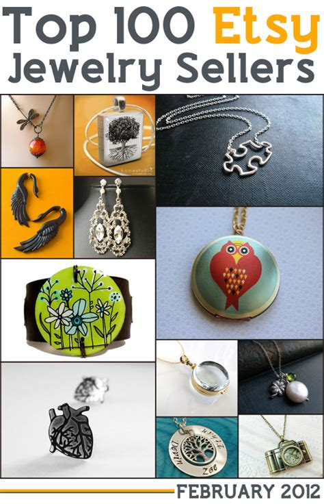 top 100 etsy jewelry sellers handmadeology