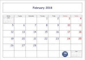 Calendar 2018 Jpg February Calendar 2018 Printable Template Pdf Jpg