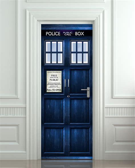 Tardis Interior Door Door Sticker Box Poster On Storenvy