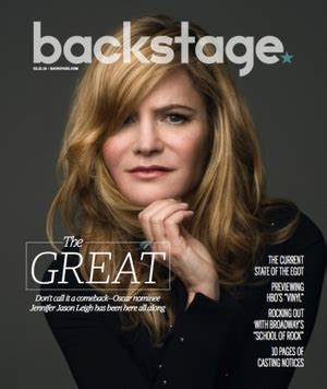 jennifer jason leigh interview fast times jennifer jason leigh is at the top of her game backstage