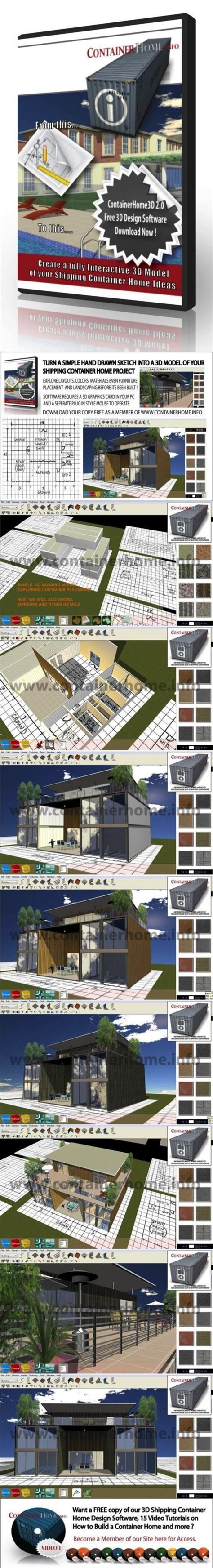 3d container home design software 3d shipping container home design software provided free to our members the free version can