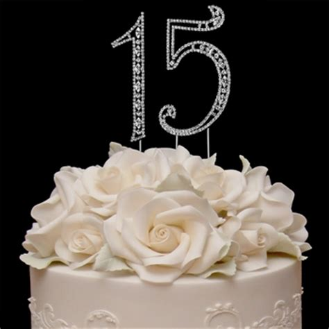 15th wedding anniversary cakes vintage sweet 15 15th anniversary or quinceaera cake