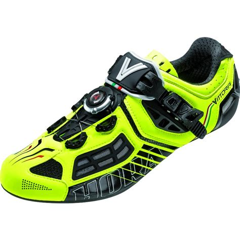 vittoria bike shoes vittoria cycling shoes hora evo road shoe neon yellow