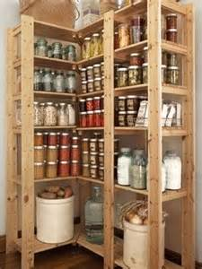 corner shelving unit for canning and our