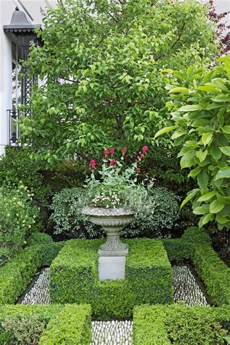 london villa box hedges english garden design english