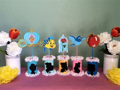 princess themed centerpiece ideas disney princesses centerpieces by sweetdecorz on etsy kenzie bday disney