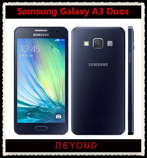 Samsung A3 Duos aliexpress buy samsung galaxy a3 duos original unlocked 4g gsm android mobile phone dual