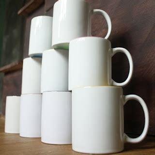 Mug Lokal Coating rp 6000 souvenir mug coating cetak murah polos rp 6 500