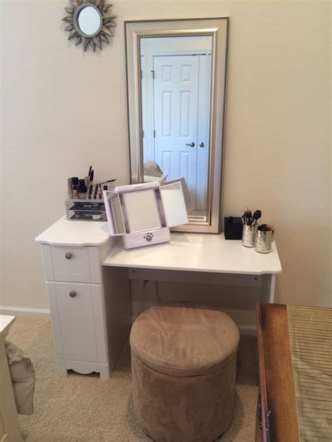 makeup table walmart pin by jackie emmerich on diy