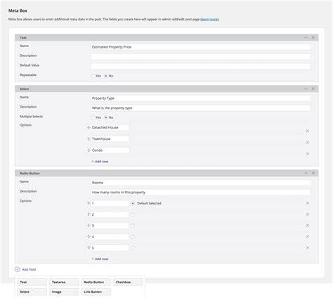 wordpress layout meta box post type builder themify