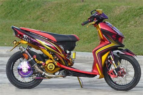 Shockbreaker Yamaha Mio Soul modifikasi standart vario 125 cbs panduan modifikasi motor terlengkap dan terbaru