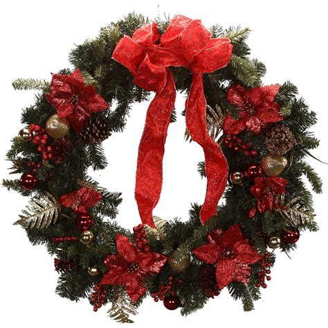 christmas wreath 90cm wreaths decorated wreaths decorated