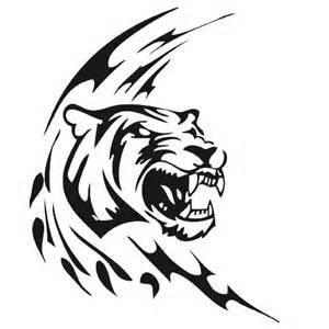 Coloriage De Tigre Blanc A Imprimer
