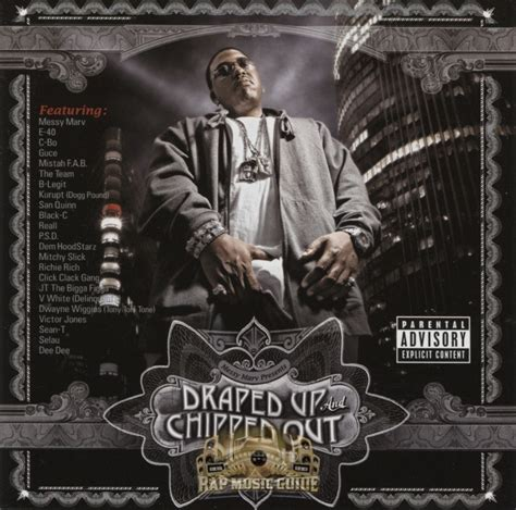Draped Up And Chipped Out marv draped up chipped out cd rap guide