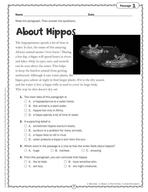 9th Grade Reading Comprehension Worksheets by Reading Passages For 10th Grade Reading Passages