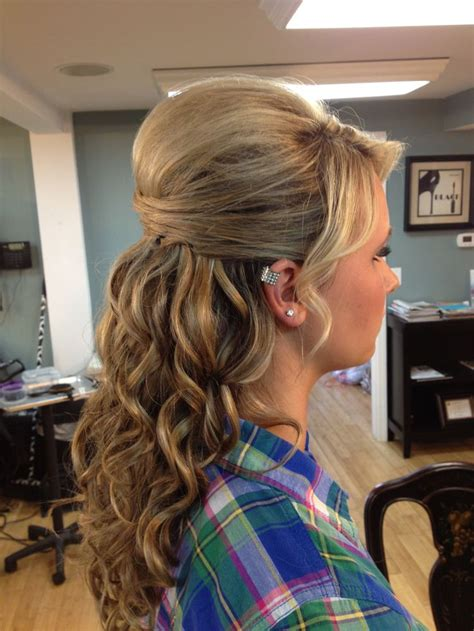 bump hairstyles for medium length hair 399 best prom dresses hair images on pinterest