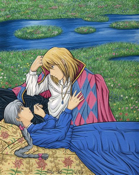 Howl S | howl and sophie love www pixshark com images galleries