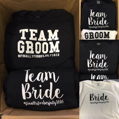 pattern shirt to wedding bride and groom tshirts bridal party shirts team bride and