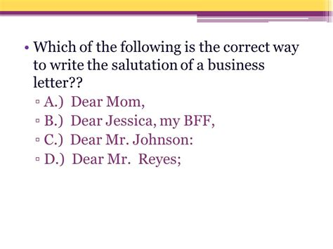 Business Letter Dear Mr Do Now Directions In The Following Exercises Turn The Sentence Pairs Into Single Compound