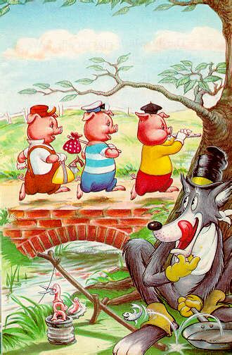 the three little pigs the three little pigs on the web page 2