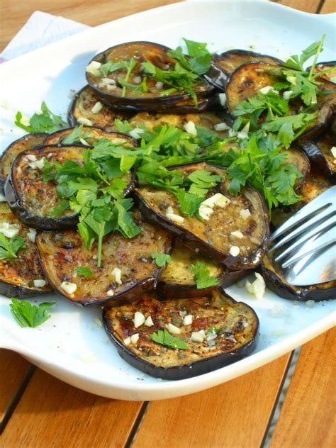 plancha cuisine int馮r馥 salade d aubergines cuites 224 la plancha une autre cuisine