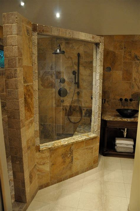 Tiled Bathrooms Ideas Showers by Bathroom Remodel Ideas In Nature Ideas Amaza Design