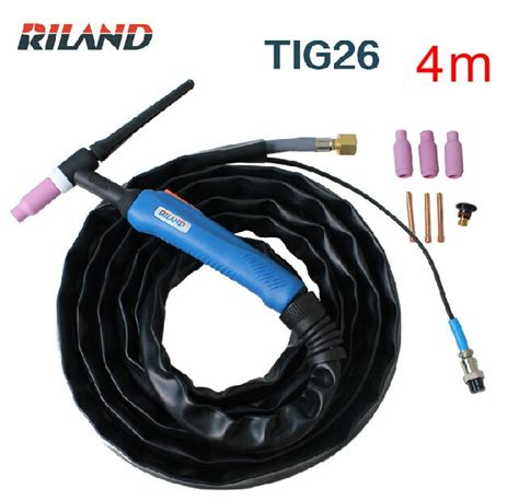 Tig Torch Wp17 Switch Cable aliexpress buy ruiling tig welding machine