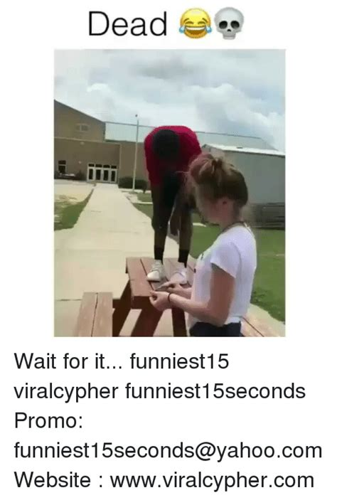 Funny Meme Websites - dead wait for it funniest15 viralcypher funniest15seconds