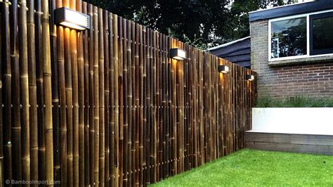 Backyard Bamboo Fencing by Best Bamboo Fencing For Garden And Outdoor Design Outdoor