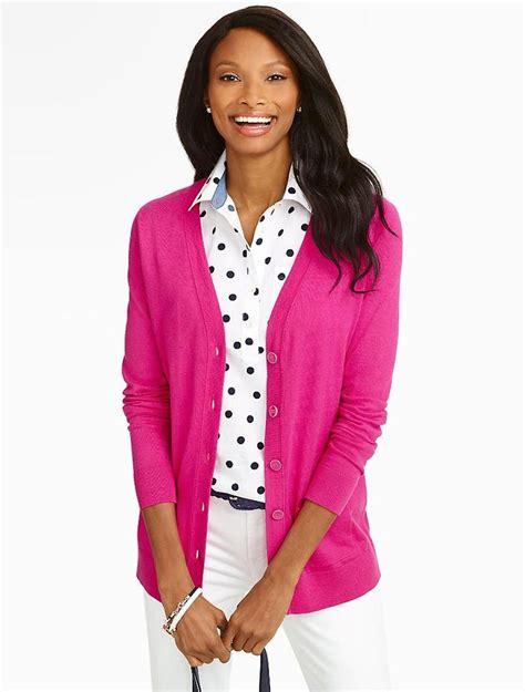 Cmb Vneck Dot Pink navy and white polka dot blouse pink v neck
