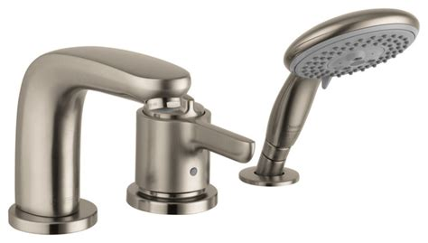 Hansgrohe Modern Bathroom Faucets Hansgrohe 4130820 Allegro E 3 Thermostatic Tubfiller