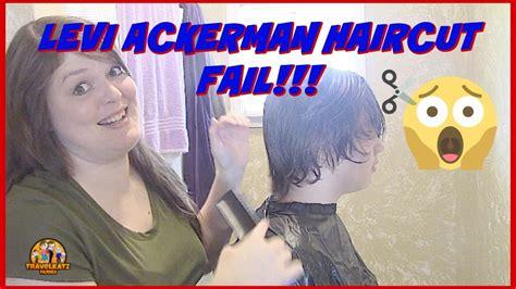 whats the name of captain levis haircut levi ackerman haircut fail travelkatzfamily youtube
