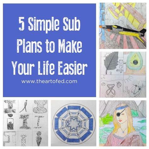 biography lesson plans middle school the 25 best art sub plans ideas on pinterest divergent