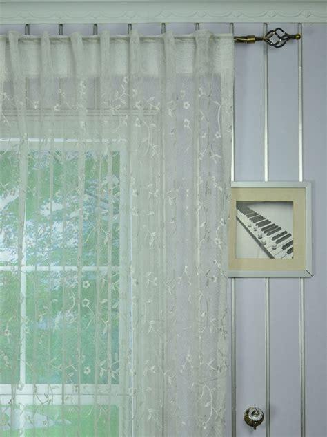 custom curtain panels elbert branch floral embroidered custom made sheer