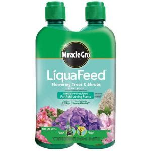 miracle gro liquafeed 16 oz flowering tree and shrubs