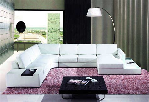 T35 Sectional Sofa T35 White Leather Sectional Sofa Leather Sectionals