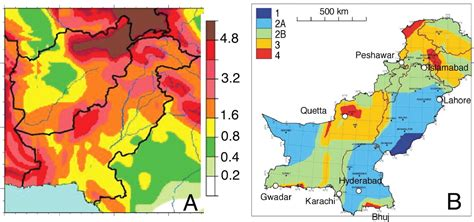 earthquake zones in pakistan msc structural engineering